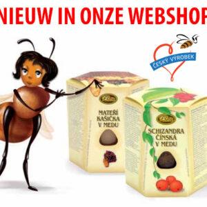Bijenwas en honing producten